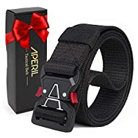 APERIL Men Tactical Belt, Military Style Adjustable Heavy-Duty 1.5