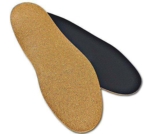 3mm Dünne Orthopädische Schuh Einlegesohle-n Senkfuß Plattfuß Normalfuß Hohlfuß mit Spreizfuß-Stütze Dämpfungs-Polster Hand-Made in Germany