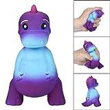 Fat.chot langsam steigende Squishies Jumbo, mit 12cm Gradient Rex Dinosaurier Duft Squishy Armband, Heilung, Simulation Kid Spielzeug Schlüssel Handy Anhänger Strap Geschenk Deko