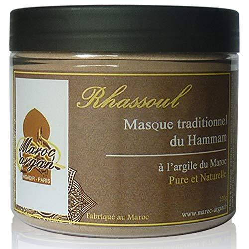 Ghassoul - Purifying Lehm von Marokko und 100% natürliche hypoallergen - Haut-Maske und Haare - 250g