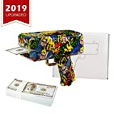 Abree Geld Pistole Spielzeug Pistole & Graffiti Geldpistole Money Gun für Kinder, Spritzpistole Spucken Geld Spoof Spielzeug