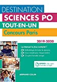 Destination Sciences Po - Tout-en-un - Concours Paris 2019-2020 - Format Kindle - 9782200624446 - 21,99 €