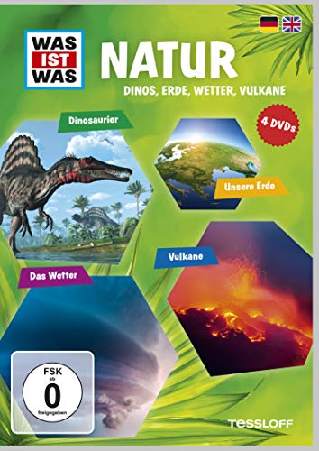 Was Ist Was DVD Natur. Dinos, Erde, Wetter, Vulkan