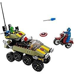 Nickelodeon LEGO Super Heroes - Marvel - 76017 - Juego de construcción - Capitán América contra Hydra