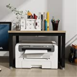 ZJJ HQQ Office Drucker Halterung Rack Computer Tisch Display Rack Küche Mikrowelle Rack (Colore : #1)