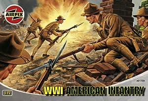 Airfix - WWI U.S. Infantry Series 1, Set de Figuras (Hornby A01729)