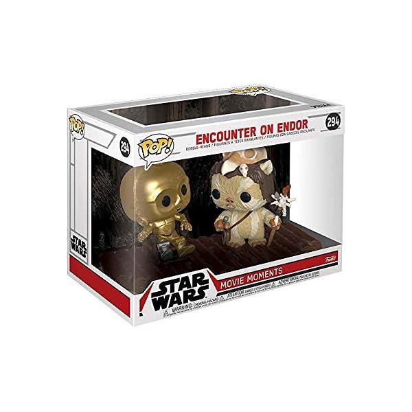 Funko Pop C-3PO en trono Ewok (Star Wars 294) Funko Pop Star Wars