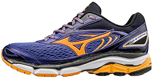 Mizuno Wave Inspire 13 (W), Scarpe da Corsa Donna, Viola (Liberty/Orange Pop/White), 37 Eu