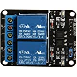 SODIAL(R) 5V RELAIS MODULE 2 CANAUX POUR ARDUINO PIC ARM AVR DSP