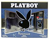 qtimber Playboy - PLAYBOY KING OF THE GAME LOTE 3 pz #manufacturer # 22 x 6 x 28 cm