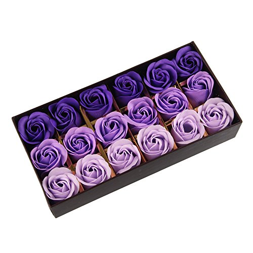 beauty7-18-boutons-fleurs-violet-savon-de-rose-bain-pour-les-main-corps-avec-boite-romantique-cadeau