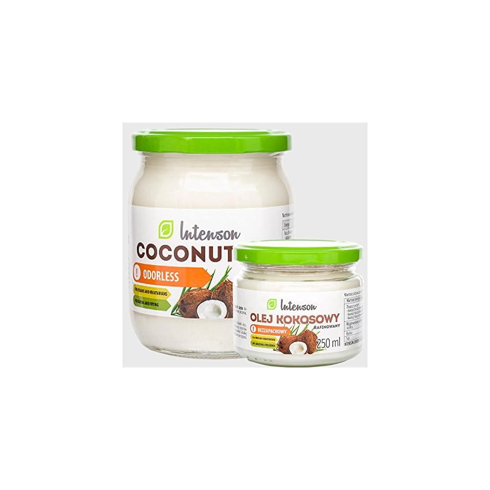 Coconut Oil 250g 500g Kokosl Im Glas Kein Plastik Kokosfett Kokosnussl Geruchlos 100 Natrlich Und Rein Reich An Ungesttigten Fettsuren Glutenfrei Lactosefrei Zuckerfrei Vegan Gmo Frei