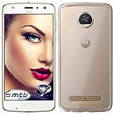mtb more energy Schutz-Hülle Clear & Slim für Motorola Moto Z2 Play/Z Play 2. Gen. (5.5'') | transparent | flexibel | TPU Case Schutz Hülle Tasche