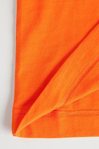 JP 1880 Herren Große Größen bis 7XL | T-Shirt Aus 100% Baumwolle | Shirt mit Halbarm & Rundhals Aus Reinem Cotton | Regular Fit | 702558 Orange