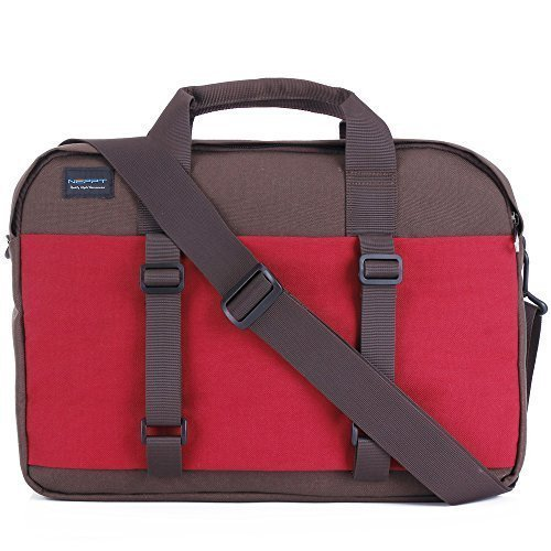 Laptop/Handtasche/Aktenmappe für Frauen, Notebook Computer Tablet Ärmel Laptop Tasche Messenger Griff Aktentasche Staubbeutel für Apple MacBook Pro/Air Series 2 Pink 33,8 cm (13,3 Zoll) Series 4 Red