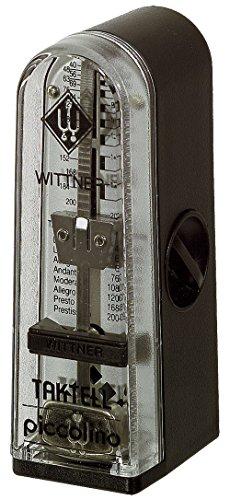Wittner Taktell Piccolino Metronom Kunststoffgehäuse ohne Glocke schwarz