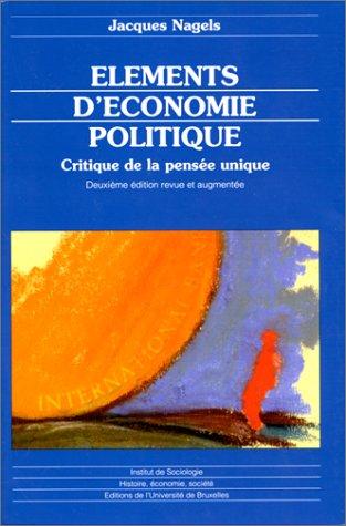 ELMTS : économie politique