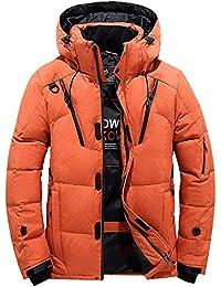 Herren Steppjacke Winterjacke Baumwolle Stand Zipper Warme