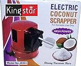 Kingstar Plastic Electric Coconut Scrapper (Red)