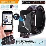 Caméra Espion , Mini Caméra Cachée WiFi Ceinture 1080P sans Fil Nanny Caméra avec...