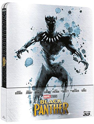 Black Panther (Steelbook 3D) [Blu-ray]