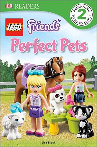 Lego Friends: Perfect Pets (DK Readers: Level 2)