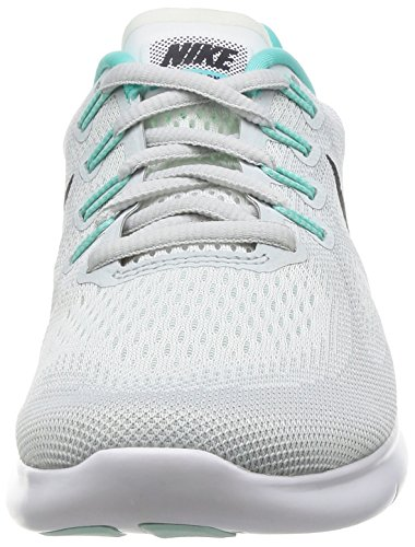 Nike Damen Wmns Free Rn 2017 Laufschuhe Elfenbein (White/anthracite/pure Platinum/aurora Green/igloo/night Purple)