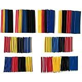 عبوه شرينك لحماية واصلاح الكابلات(3-4-5-6-8-10-12-15) مم القطر الداخلى-8 مقاسات-طول القطعه 10 سم - 5 قطع من كل لون - اجمالى ا