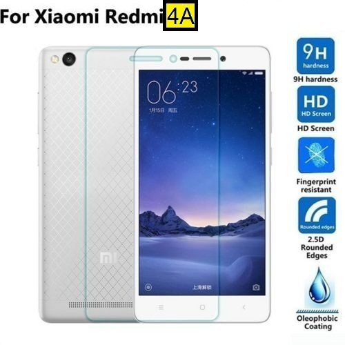 Dashmesh Shopping Tempered glass screen protector For Xiaomi Redmi 4A