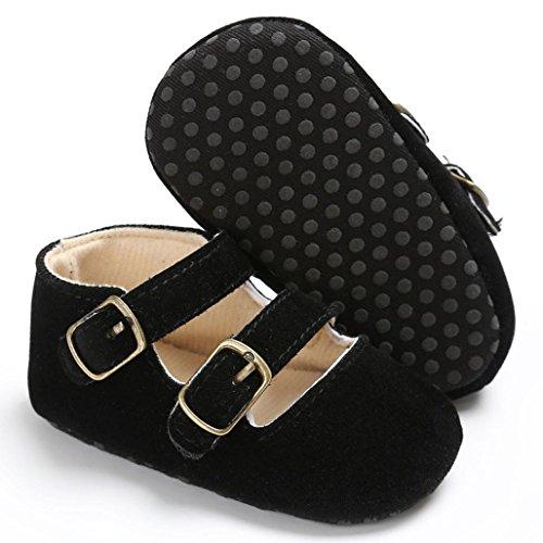 Mädchen Bzline® Weiche Sneakers Schwarz Sohle Jungen Krippe Schuhe Baby zFqSPw4