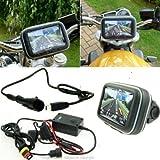 5inch SatNav GPS Leistung Motorrad Halterung - gerade Mini USB (SKU 14034)