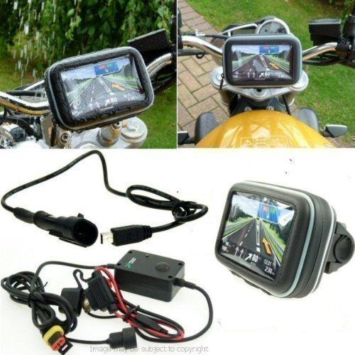 12.7cm SatNav GPS Betrieb Motorrad Montage - Gerades Mini USB (SKU 14034)