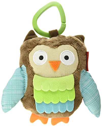 Skip Hop Skip hop Treetop Friends Owl Stroller Toy, Multi Color