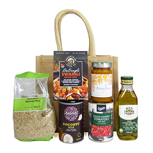A Taste of Spice Swahili Curry Food Hamper - Gift Ideas for Mum, Mothers Day, Dad, Fathers Day, Christmas, Birthday, Foodies, him, her, Student, Recipe ingredients