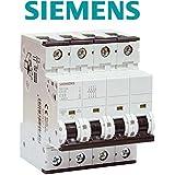 Siemens - Disjoncteur électrique tétrapolaire 32 A