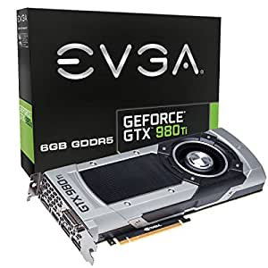 EVGA GTX980TI Scheda Video 6GB, Nero