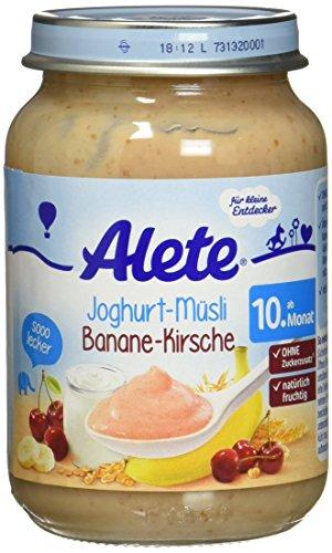 Alete Joghurt-Müsli Banane-Kirsche, 190 g