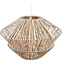 Amazon.fr : suspension rotin : Luminaires & Eclairage