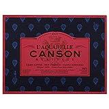Canson l' acquerello Canson eredità Blocco 4Lati 20fogli grana satinato Grana satinata 23 x 31 cm