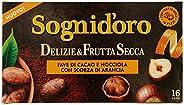 Sogni Doro Tisana Delizie&Frutta Secca Fave Cacao e Nocciola con Scorza di Arancia 16Fl - 4