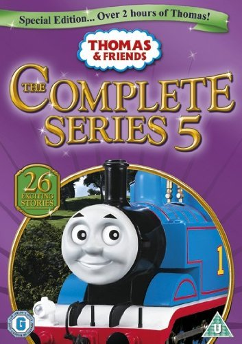 Thomas & Friends - The Complete Series 5 [UK Import] Fish Tank Dvd Für Tv