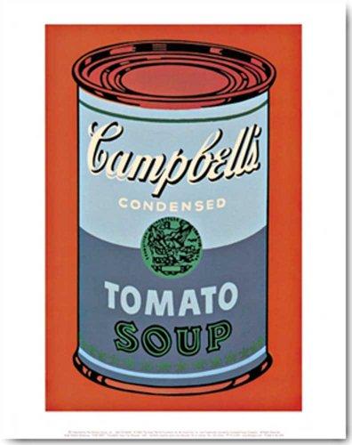`s Soup Can (Tomato) IV Kunstdruck Grösse 28x35 cm (Campbell's Tomato Soup Can)