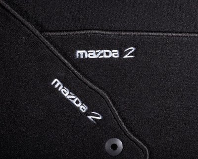 Genuine Mazda 2 Tailored Floor Mats / Mat set - Fits 2007 Onwards