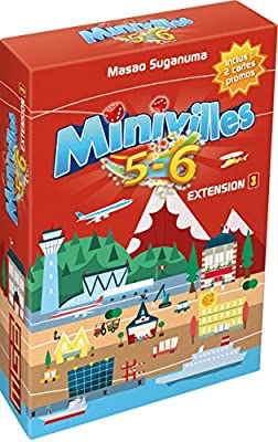 Moonster Games Asmodee - Jeux de cartes - Minivilles