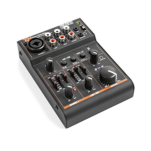 MIXER 172.603 PDM-D301BT 3 CANALI CON USB/BT