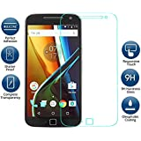 [Sponsored]eFinetrick Premium Full Screen Edge To Edge Coverage 2.5D Curved HD+ Tempered Glass Screen Guard Protector For MOTOROLA MOTO G4 PLUS FOURTH GENERATION Transparent