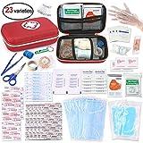 Oumers Pronto soccorso kit medico, obiettivi emergenza kit di sopravvivenza per casa auto zaino escursioni in viaggio di pesca