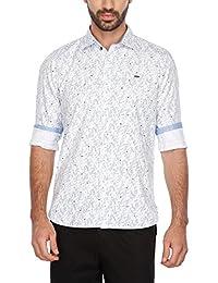 Turtle Mens Slim Collar Printed Shirt