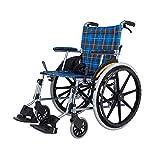RKY Rollstuhl Rollstuhl, Aluminiumlegierungs-Rollstuhl, älterer untauglicher Roller, Portable und Portable /-/