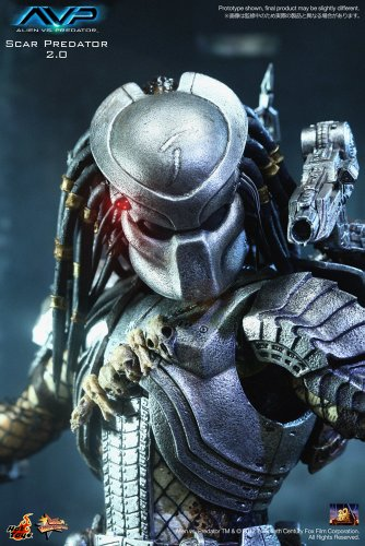 "[Movie Masterpiece] ""AVP"" 1/6 scale figure Scar Predator (Version 2.0) (japan import) 2"